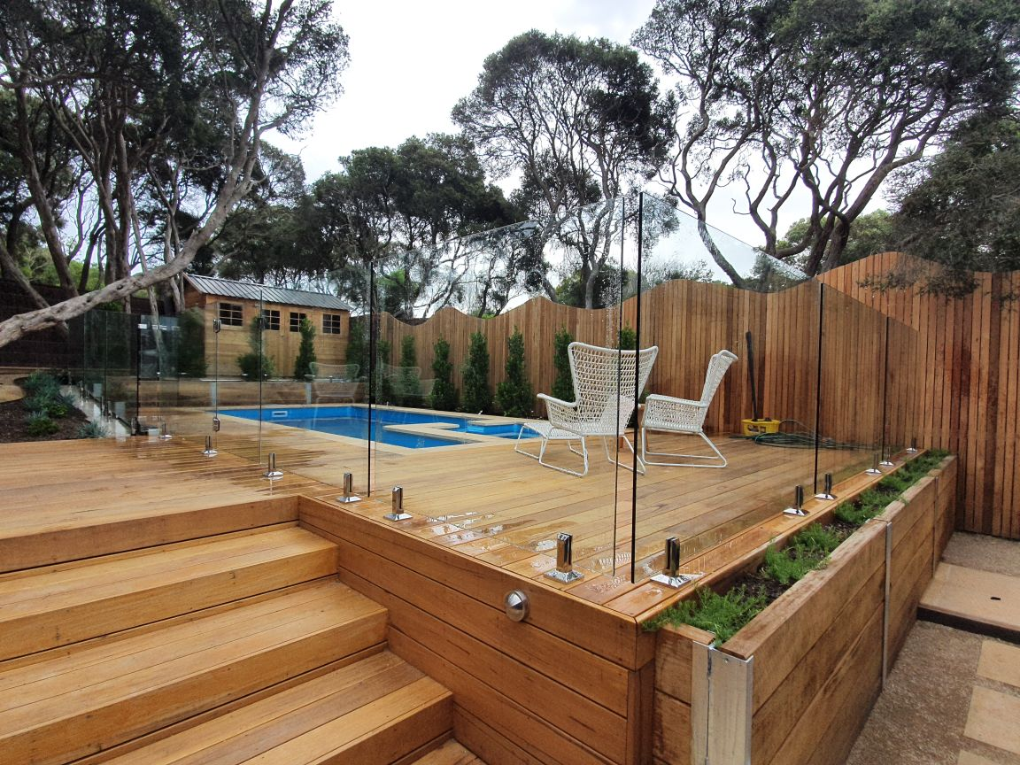 Image of: Pool Fencing Melbourne Dolphin Fencing