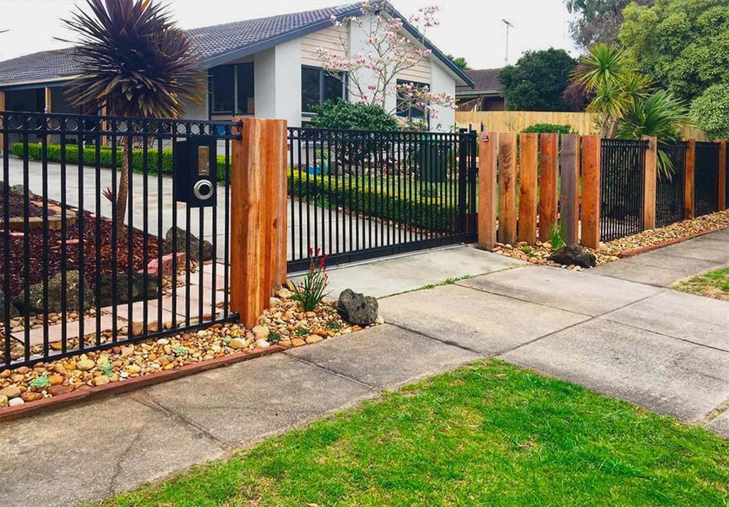 Driveway & Pedestrian Gates