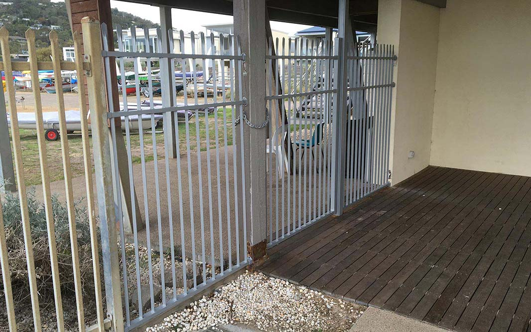 Aluminium Security Fencing