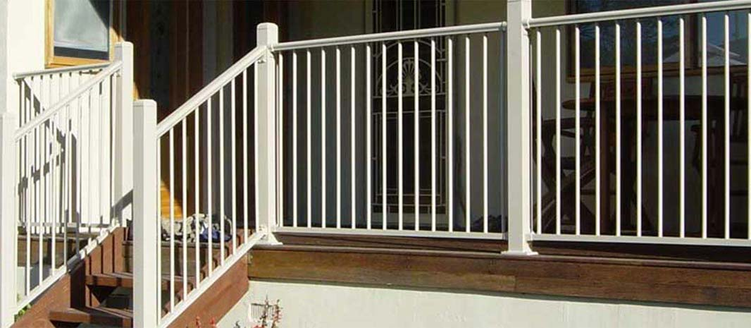 aluminium fencing for stairs