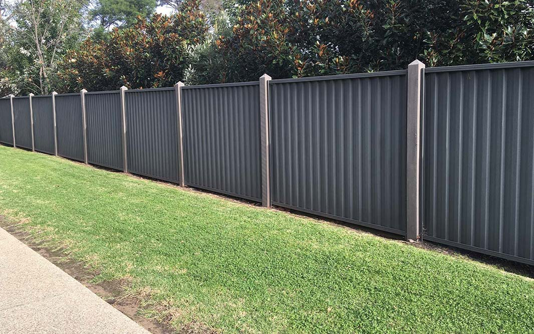 Property Fencing using Colorbond