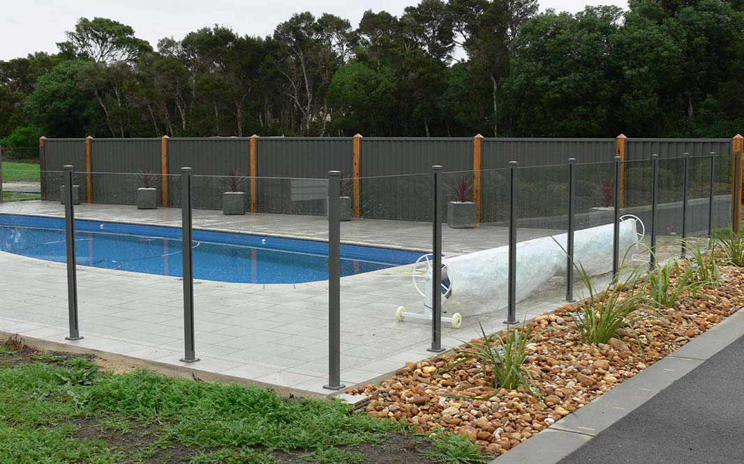Steel Pool Security Fencing
