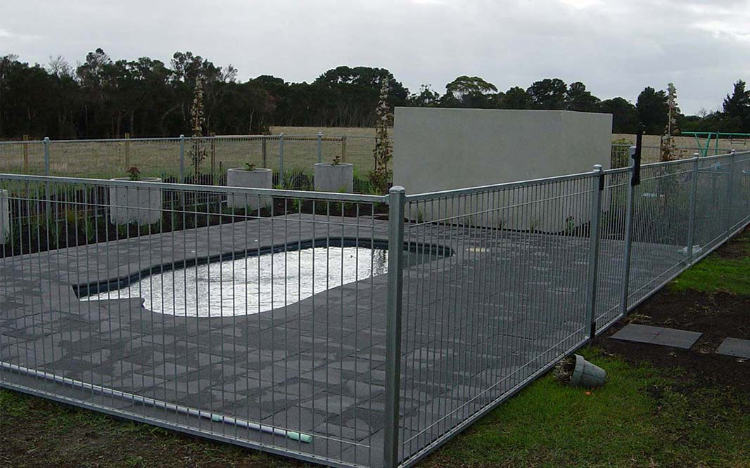 Secure Pool with Fencing