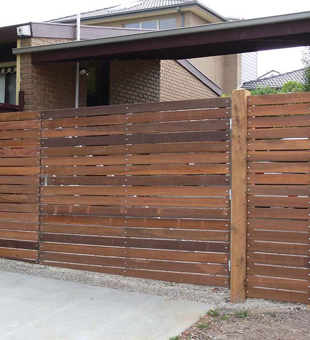 timber fencing melbourne