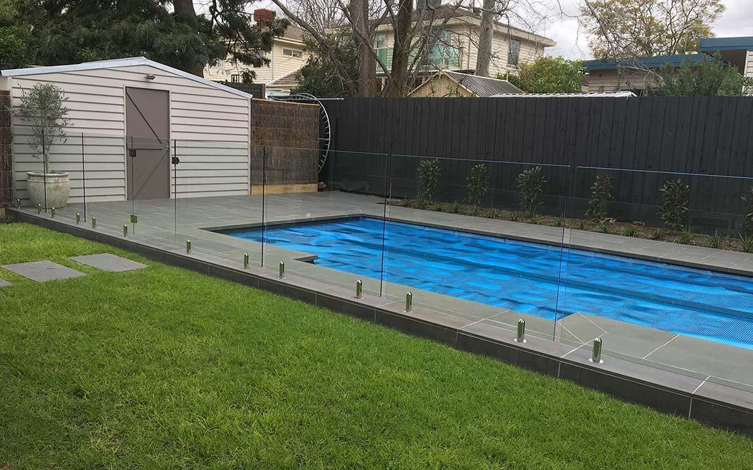 framed-semi framed glass pool fence gallery