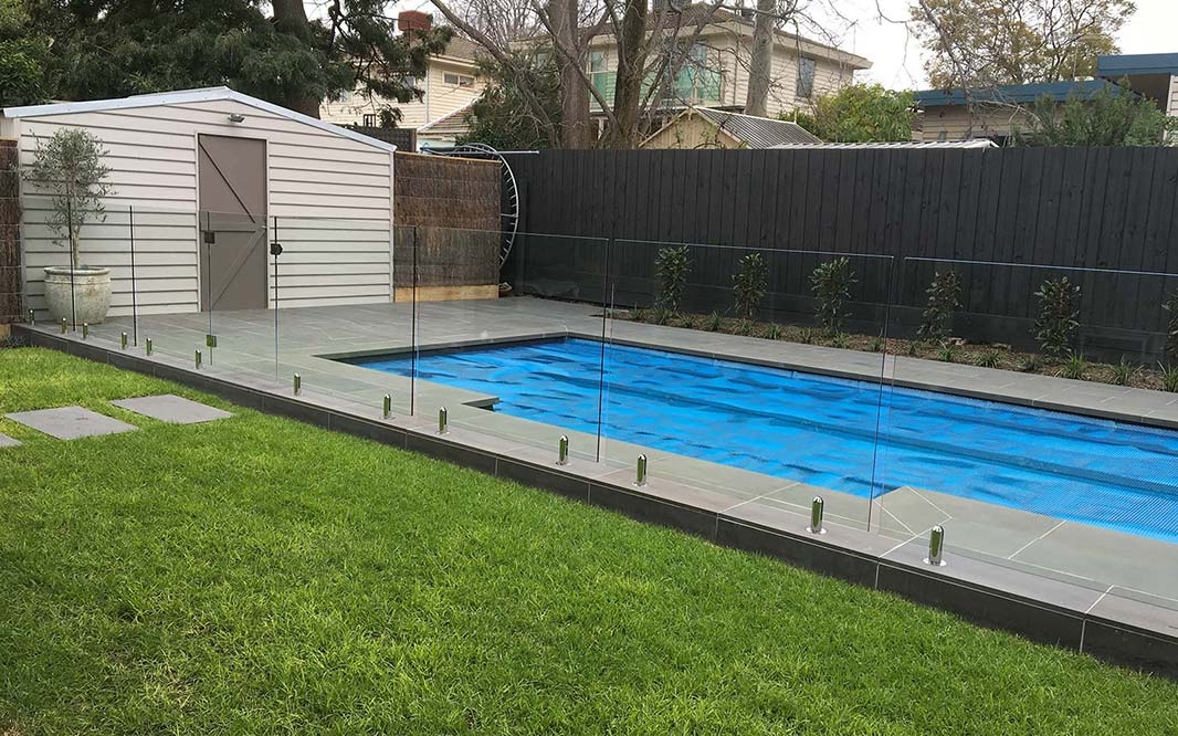 Glass Fencing for Outdoor Pool