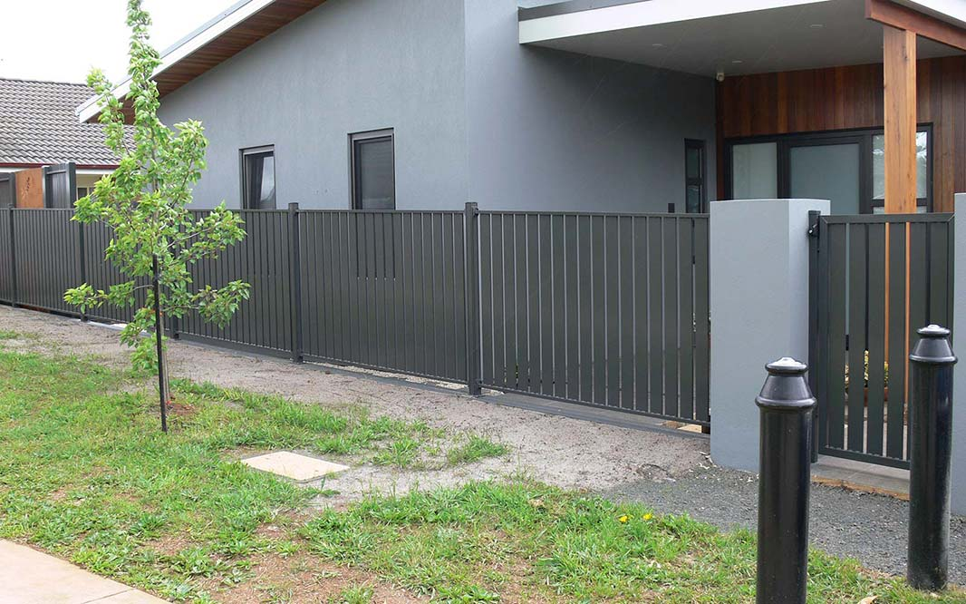 Security Fencing using Slat
