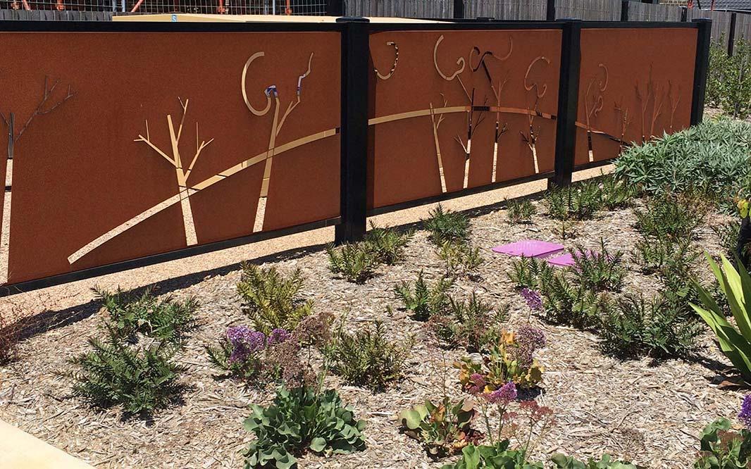 Garden Fencing Idea