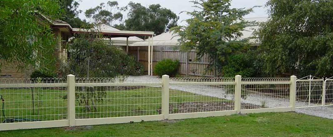 Unqiue Design for Garden Fencing