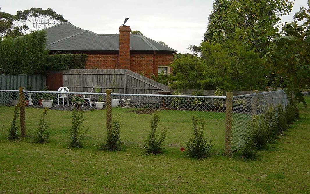 Garden Fencing Unique Design