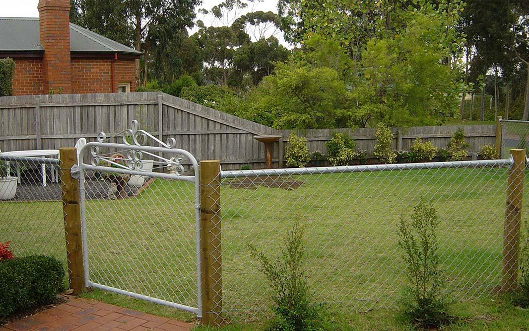Garden Security Fencing