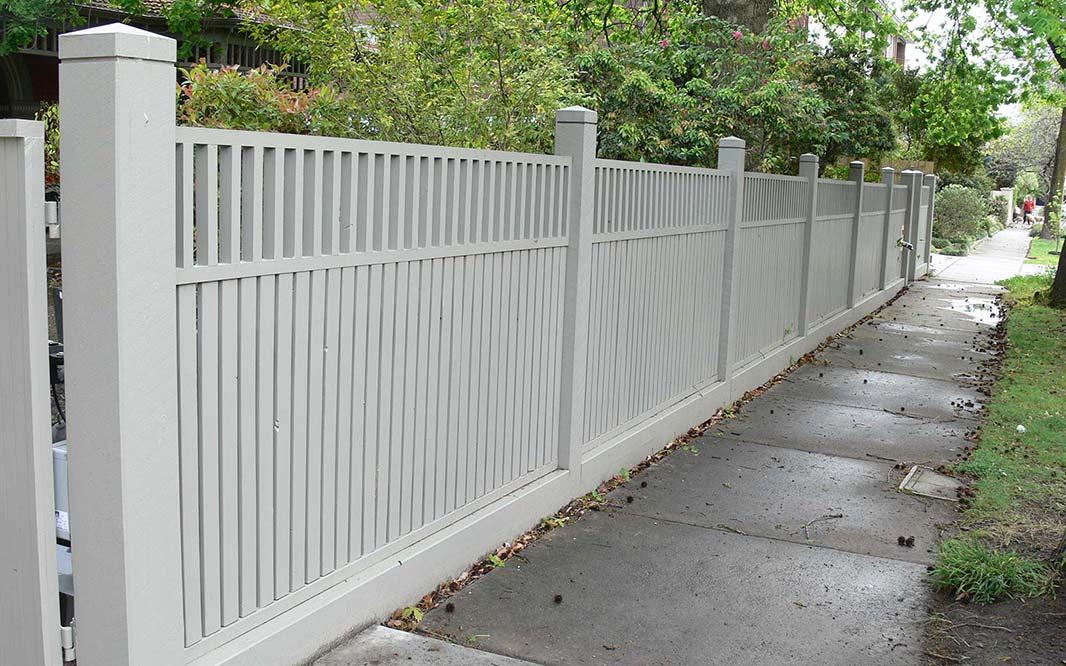 Steel Fencing to Secure Garden