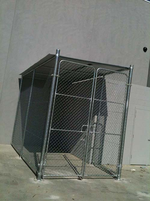 Security Fencing with Steel