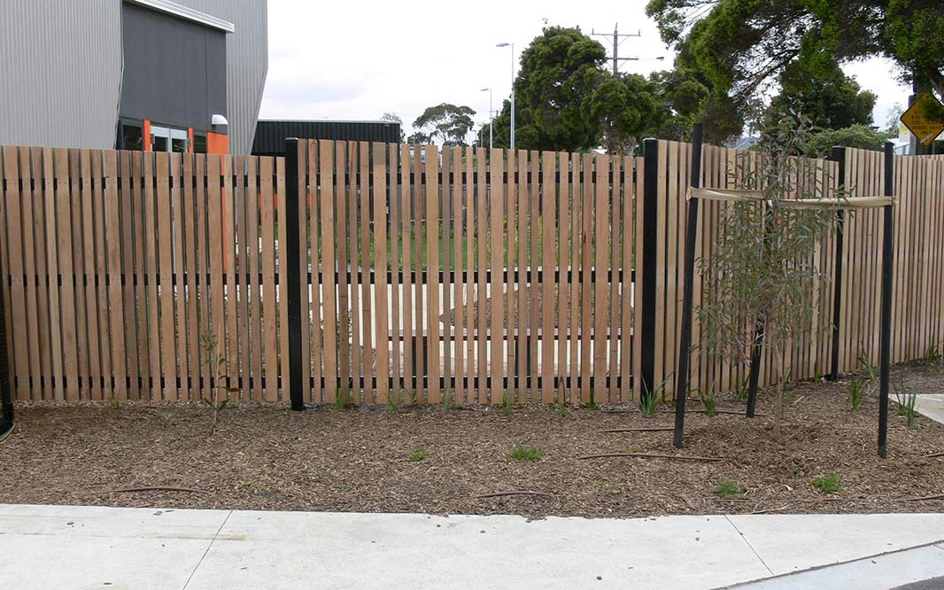 Timber Security Fencing