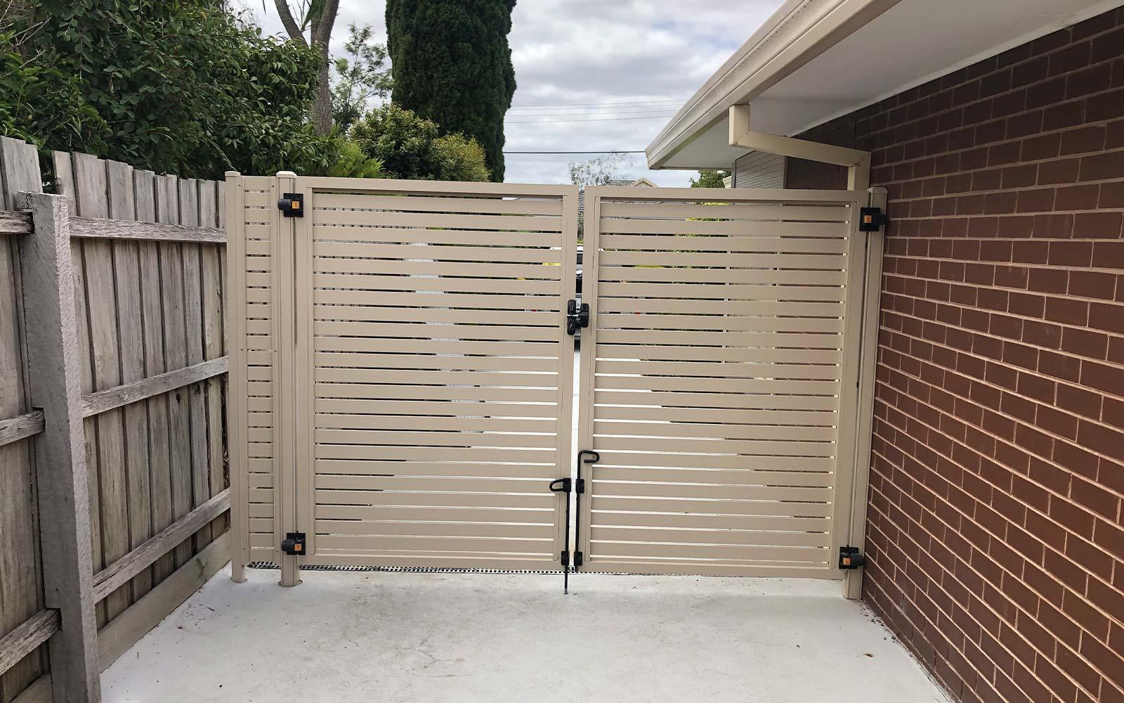 double swing gates melbourne