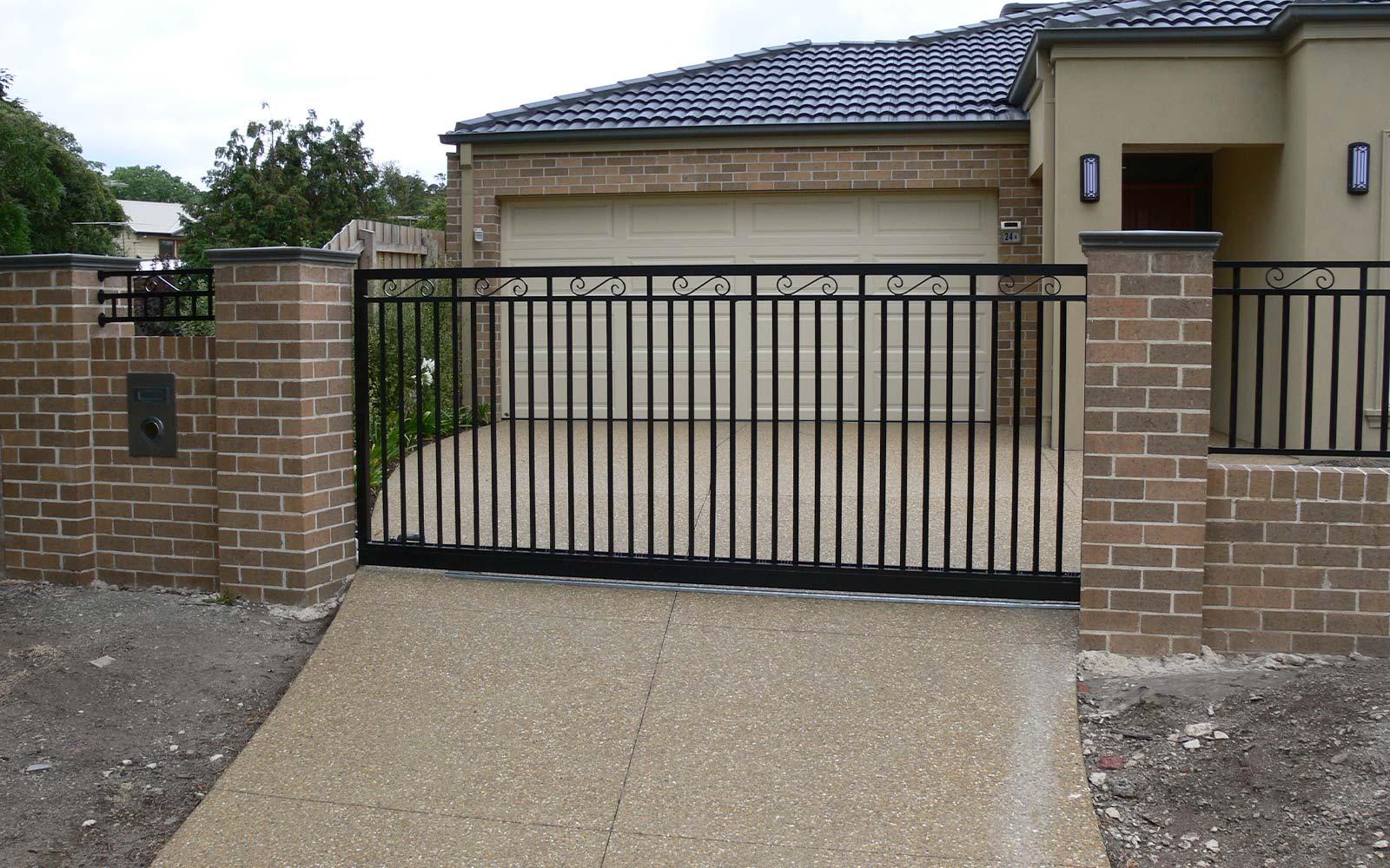 Automated security gates image
