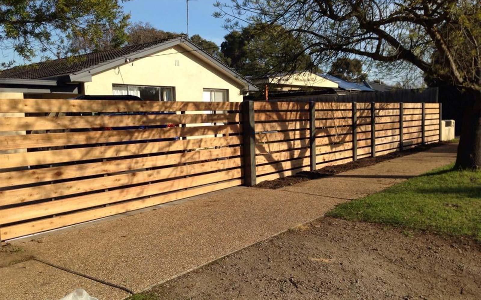 colorbond sliding gates
